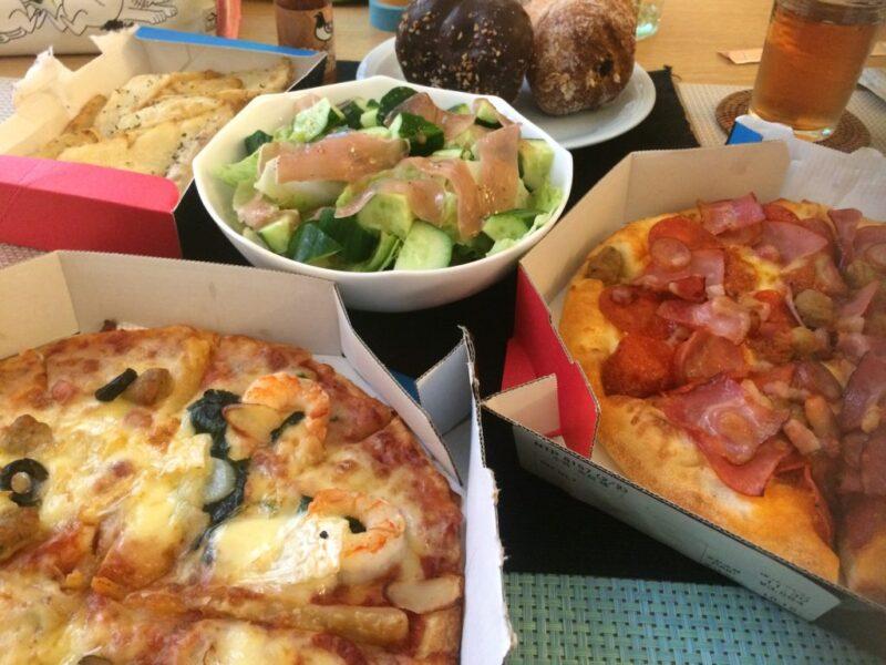 『ドミノピザ』岡山初出店なので初めて食べてみた!今なら1枚無料でお得!