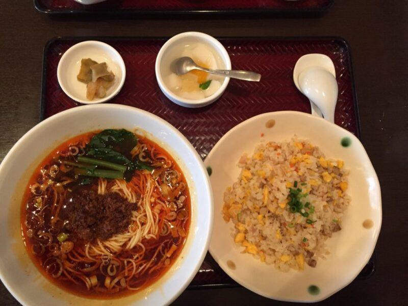 倉敷中島の中華料理『中華園』お得なランチでチャーハンとラーメン!