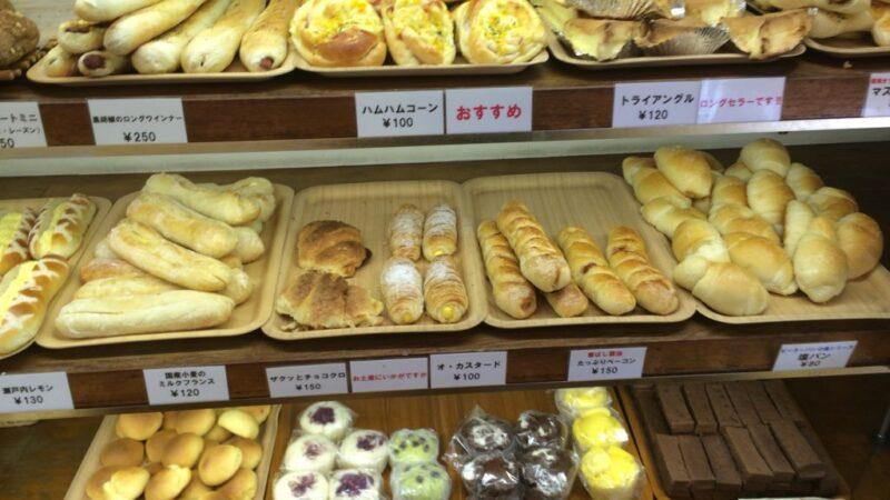 倉敷パン屋『ピーターパン』土曜日サービスデーはパン全品2割引き!