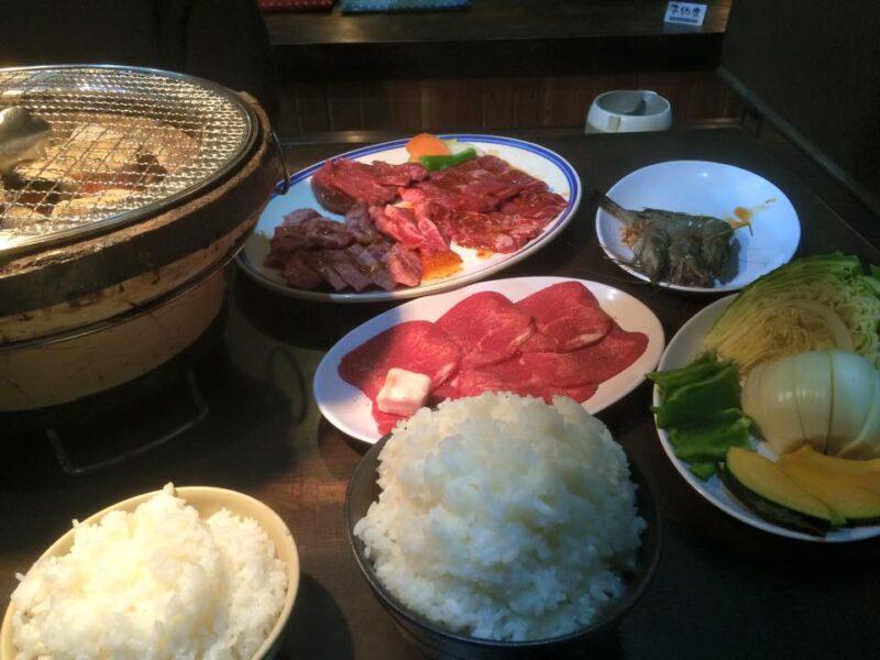 倉敷平田焼肉屋『三宅牧場産直焼肉You Boku』炭火で美味しいハラミ!