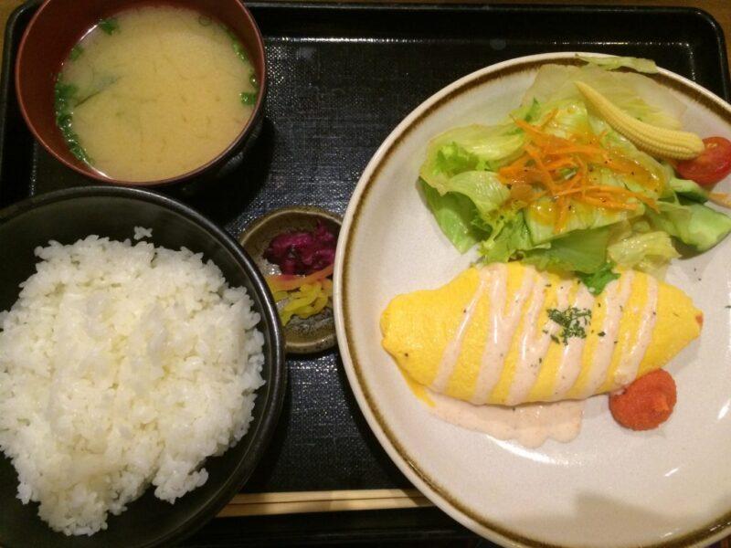 倉敷駅前『横浜はいから亭』美味しいオムライスランチと面白いマンガ!