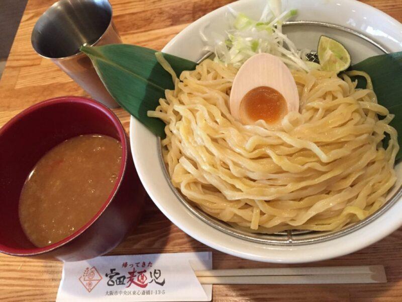 大阪シャンプーハットてつじ『帰ってきた宮田麺児』絶品つけ麺①