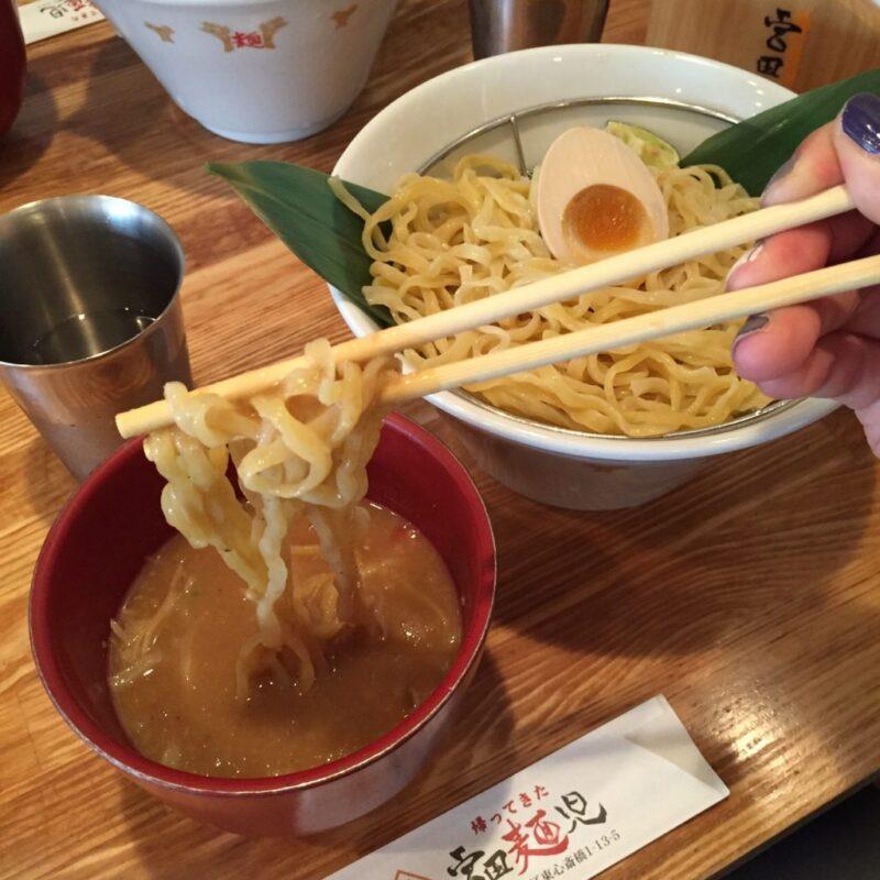 大阪シャンプーハットてつじ『帰ってきた宮田麺児』絶品つけ麺⑤