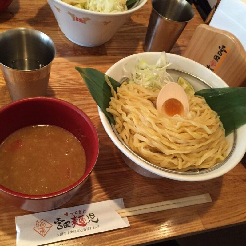 大阪シャンプーハットてつじ『帰ってきた宮田麺児』絶品つけ麺②