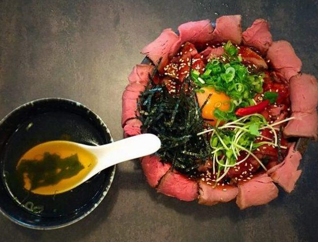 倉敷『焼肉レストラン十庵』ローストビーフ丼と焼き肉ランチ!後編