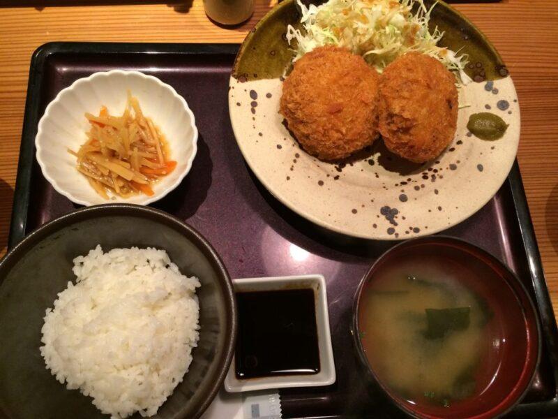 神戸三宮『博多もつ鍋やまや』から揚げと明太子食べ放題ランチ③