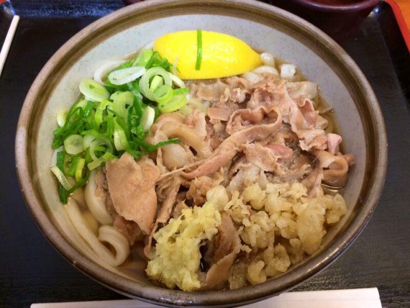 香川丸亀『麺処綿谷』超大盛スペシャル肉ぶっかけうどん①