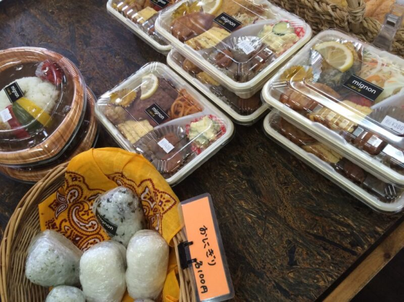 倉敷鶴形パン屋『mignon(ミニョン)』から揚げ弁当もお惣菜もあって便利!