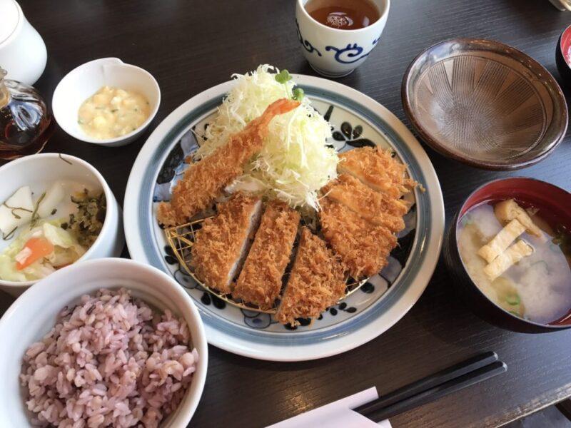 『とんかつ浜勝』はご飯、みそ汁、キャベツ、漬け物がおかわり自由③