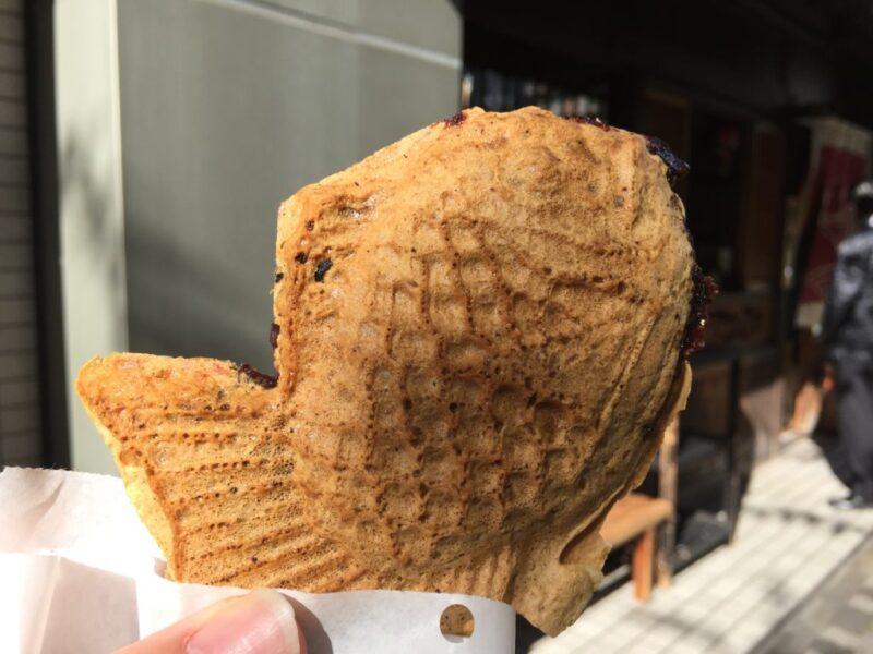 東京恵比寿『たいやきひいらぎ』パリパリサクサクの皮と餡子ぎっしり鯛焼き!