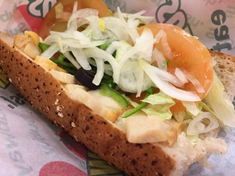 イオン倉敷『サブウェイ(SUBWAY)』野菜たっぷりサンドイッチメニュー!