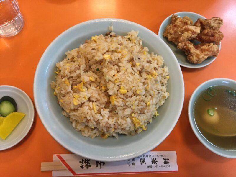 岡山で一番美味いチャーハン!表町中華『宝来軒』やきめし大盛りランチ!