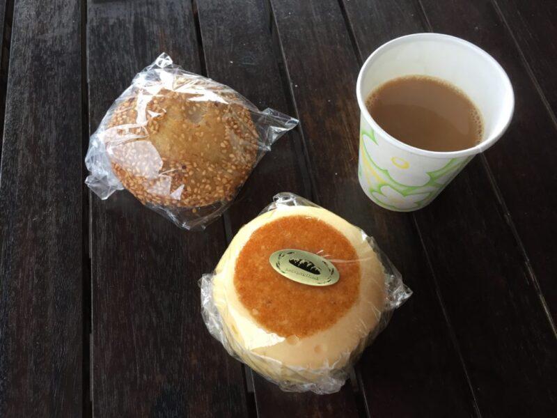 倉敷沖新町『そよ風の麦畑』チーズ蒸しパンもゴマ団子も98円のパン屋!
