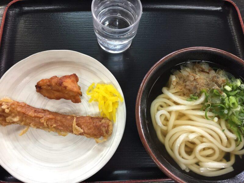 岡山セルフ『くうかいうどん今店』ギザギザカウンターの機能美は必見!