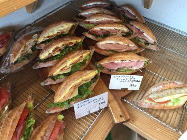 岡山今在家パン屋『フクラムフクラム』天然酵母の食パンとバゲットサンド!