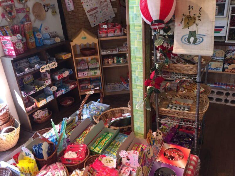 倉敷老松の駄菓子屋『だがしやあーちゃん』大好物うまい棒とキャベツ太郎!