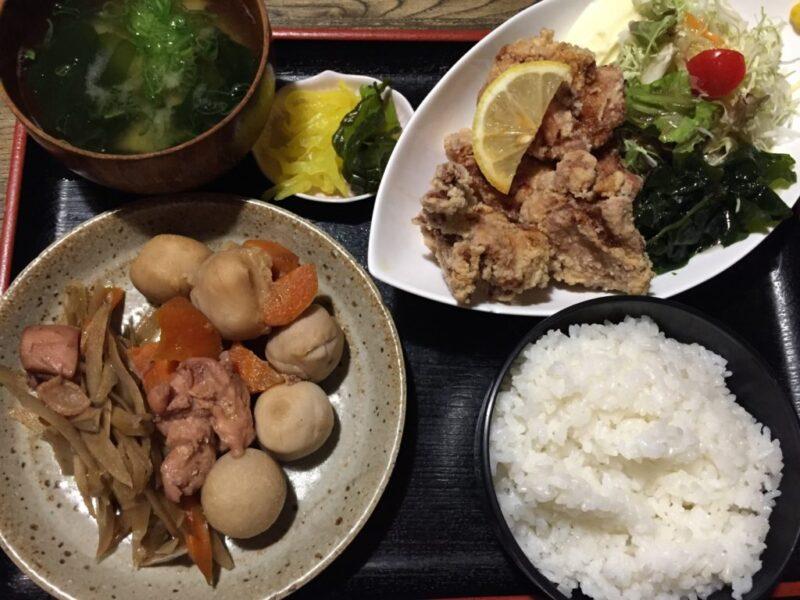 倉敷居酒屋『海鮮問屋かたつむり』食べ放題日替わりランチバイキング!