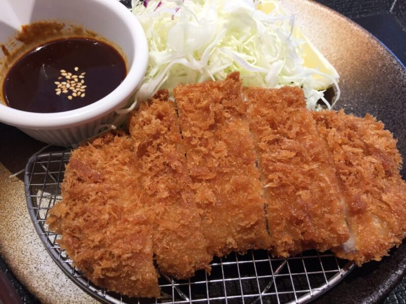 牛丼松屋系とんかつ屋『松のや(松乃家)岡山厚生町店』カツ丼とトンカツ定食!