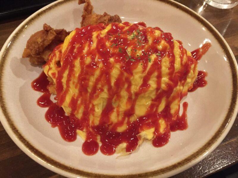 倉敷駅前『横浜はいから亭』ランチは洋食オムライスで夜は食べ飲み放題!