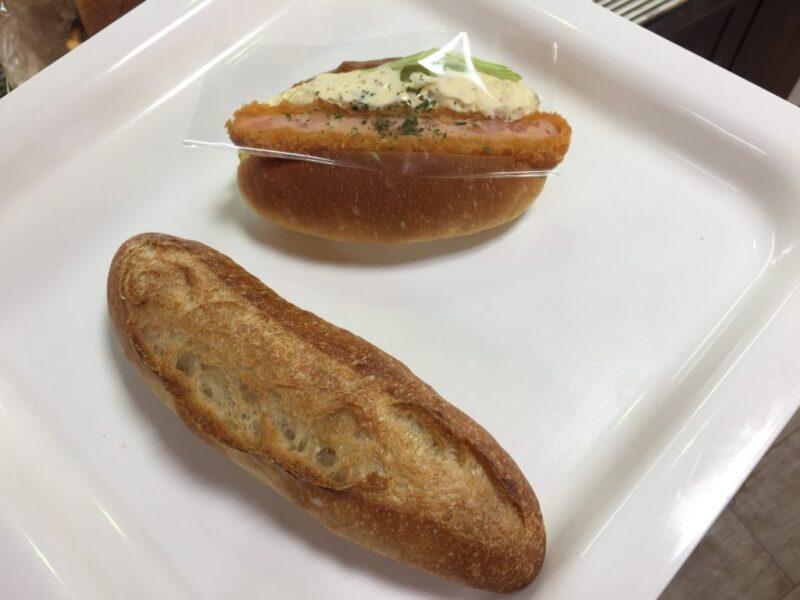 岡山伊島『パン工房Lassen (ラッセン)』クリームパンとカツサンド!