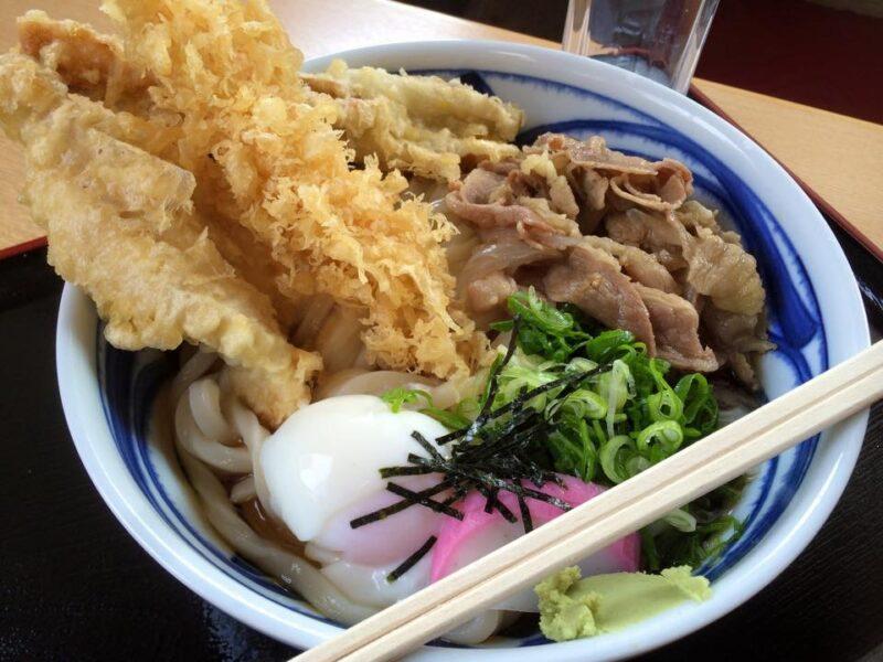 倉敷水島『さぬきうどん いわ屋』本場香川のざるうどんと天ぷらぶっかけ!