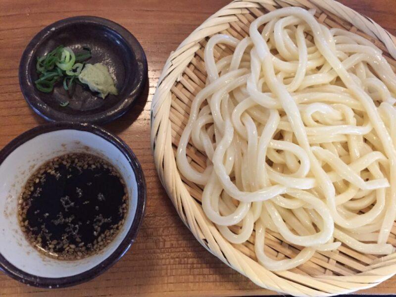 倉敷亀島『なか浦うどん』天乃や栄楽系列のざるうどんと肉うどん!