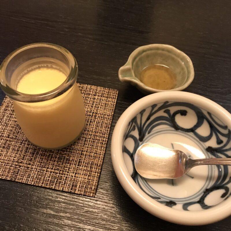香川丸亀『石川うどん』無化調ざるうどんと3年物の味醂で食べるプリン!