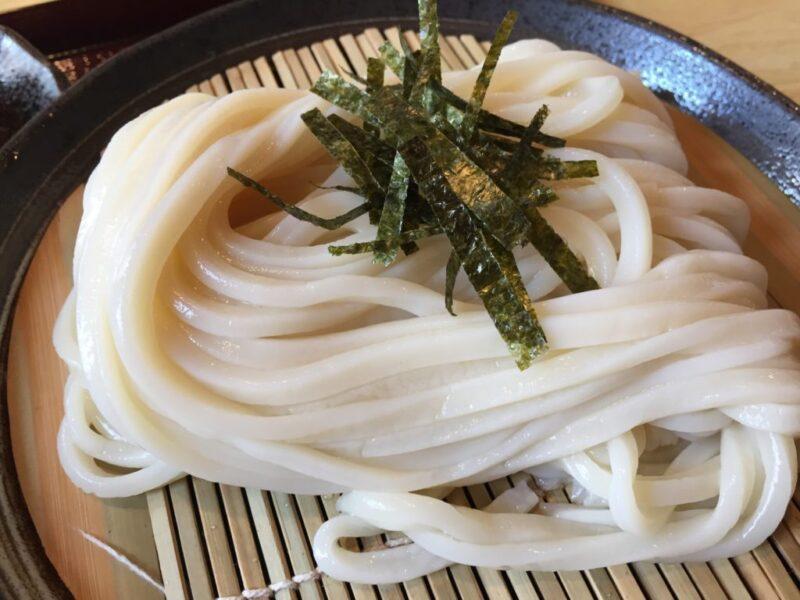 岡山西古松『手打ちうどん藤善』豪華なのに安い海老天ぷらざるうどん!