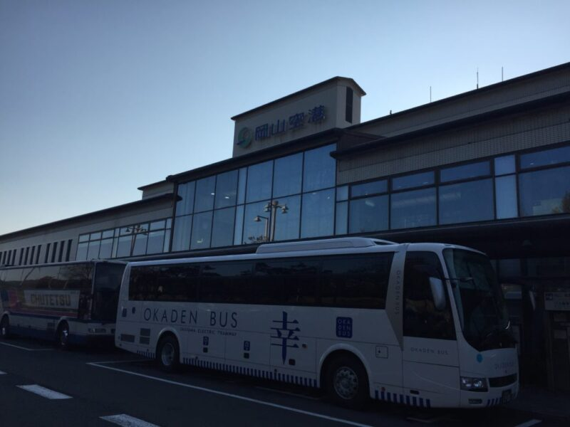 岡山空港から韓国ソウルへ!カードラウンジマスカットで無料ドリンクバー!