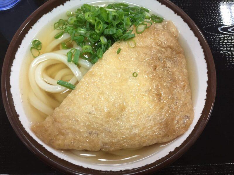 香川高松『さか枝うどん南新町店』商店街にある支店できつねうどん!