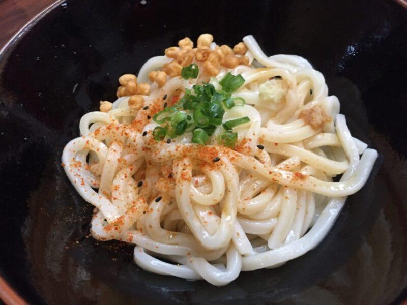 香川高松カフェ『メイド喫茶 茶々娘』メイドさんの大根すりすりDSSうどん!