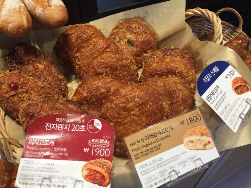 韓国パン屋『パリバゲット(PARIS BAGUETTE)』激ウマ玉子サンド!