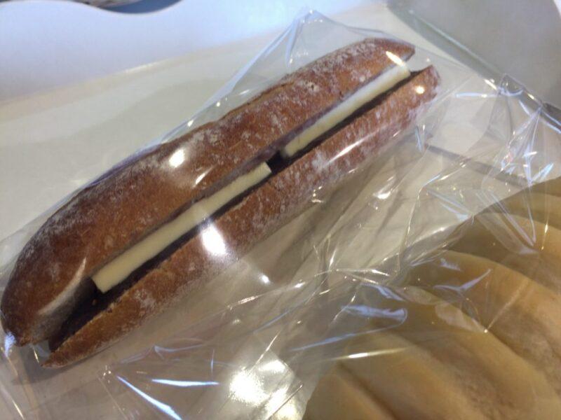 岡山箕島『天然酵母パン工房どんぐりコロコロ』ハード系あんバター!