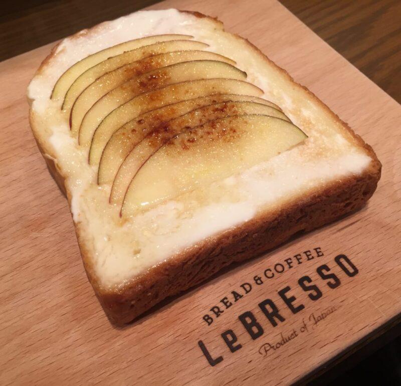 グランフロント大阪食パン専門店『レブレッソ(LeBRESSO)』でトースト!