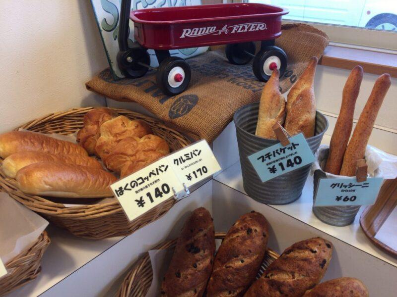 岡山南区大福パン屋『コロボックル』国産小麦の天然酵母パン!