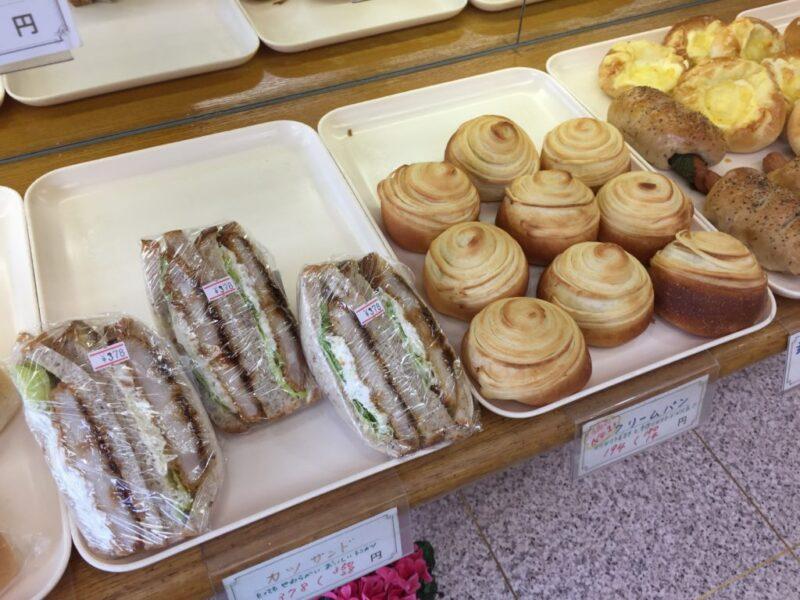 岡山県庁横パン屋『ふさやベーカリー』創業50年の懐かしいクリームパン!