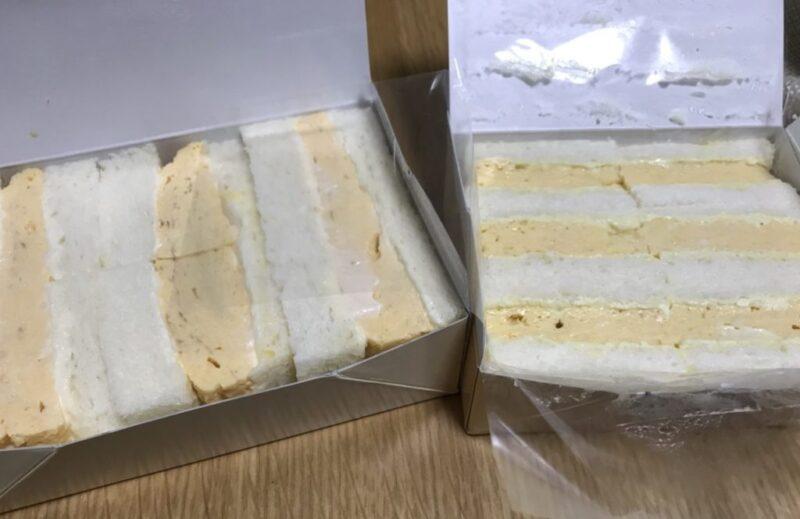 東京『天のや』大阪『双樹』出し巻玉子サンドイッチ食べ比べしてみた!
