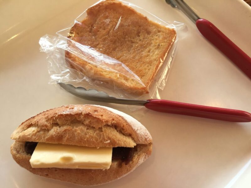 岡山医大前『わくWAKU(ワクワク)』リエゾン系あんバターとハンバーガー!