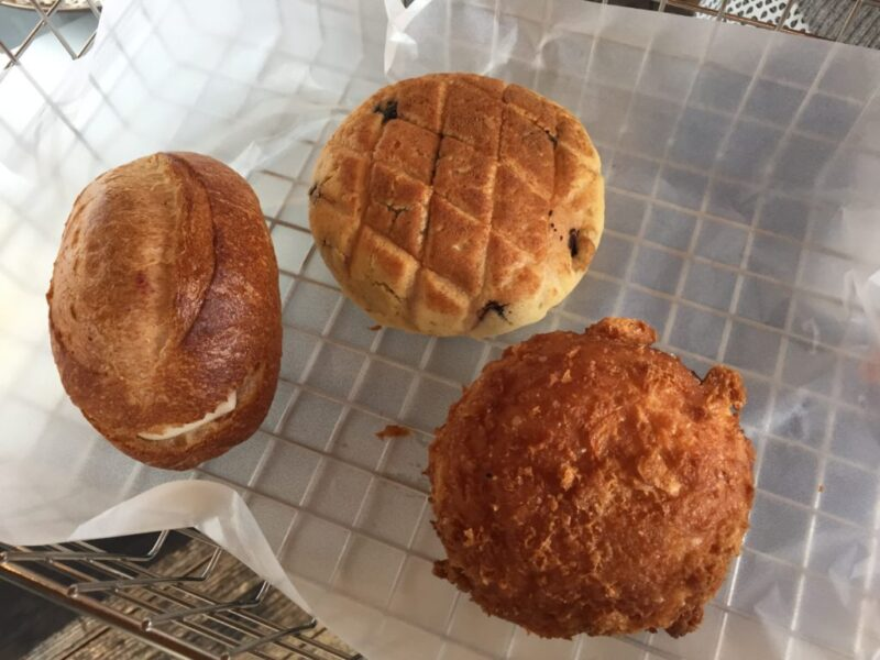 倉敷林パン屋『ベーカリーラボコンパン(KONPAN)』カレーパンと豚パン!