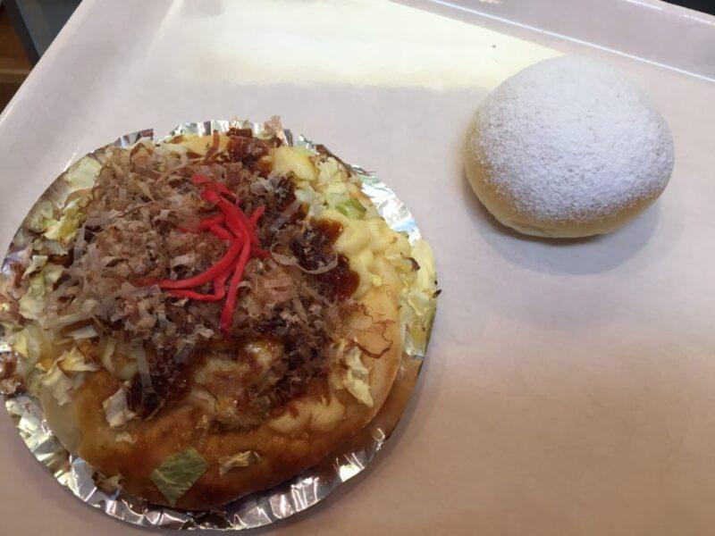倉敷福田町『ベーカリーハウスパンの木』お好み焼きパンとクリームパン!