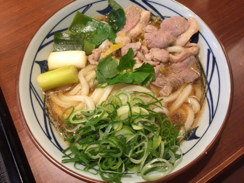 『丸亀製麺』毎夜6時から夜なきうどんで半額!今回は鴨ねぎうどん!