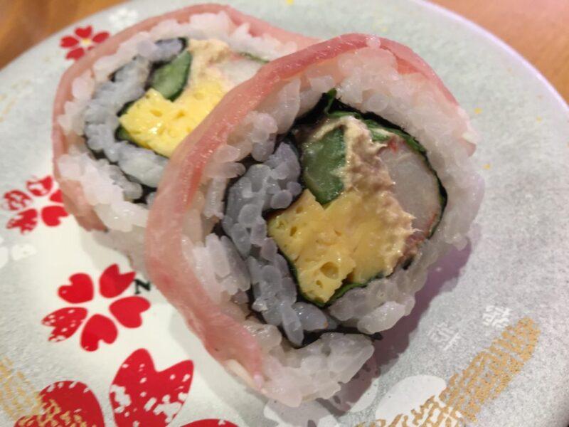 関西国際空港『にぎりの徳兵衛』出国前の日本食と言えば回転寿司!