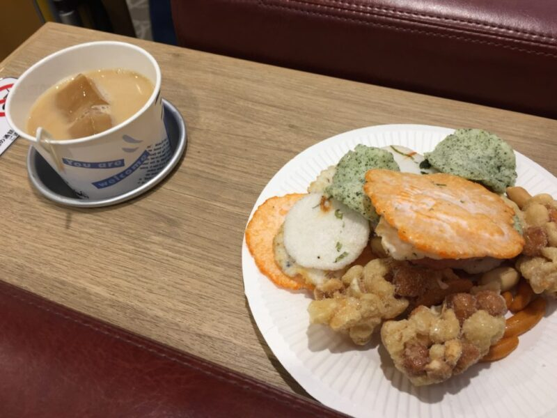 関西空港カードラウンジ『比叡』出国前や到着時にも使えるドリンクバー!