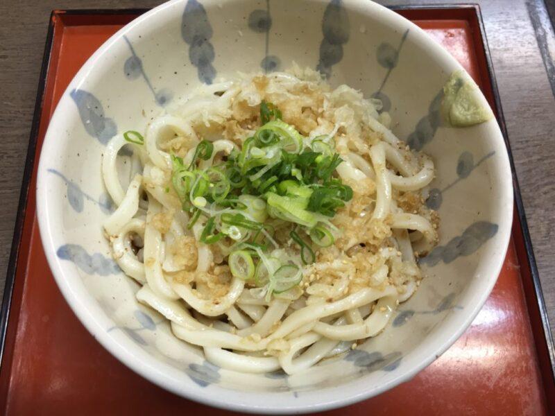 岡山早島『手打ちうどん妹尾』1日5食限定のたこ飯うどん定食ランチ!
