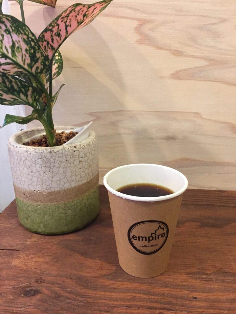 岡山駅西口奉還町カフェ『エンパイア』スペシャリティコーヒーとパン!