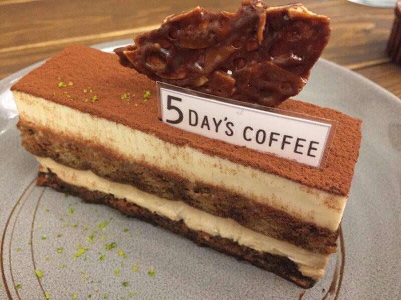 香川高松カフェ『5DAY'S COFFEE』インスタ映えなケーキと自撮りの壁!