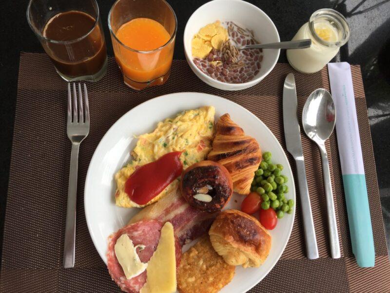 ベトナムホテル『プレミアビレッジダナン』朝食モーニングビュッフェ!