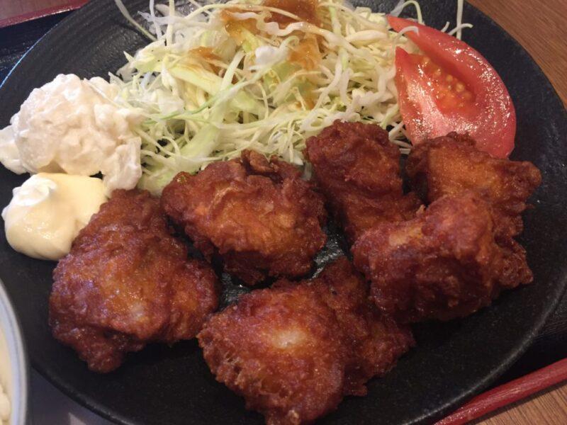 イオン岡山『串かつでんがな』お得な日替わり串カツランチと唐揚げ定食!