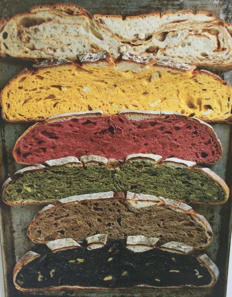 岡山天神町パン屋『ナショナルデパート』色鮮やか断面のグランパーニュ!