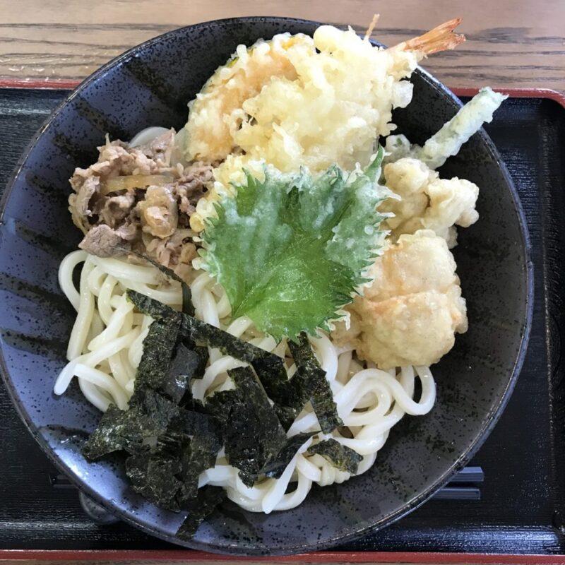 倉敷連島『讃岐うどん てん』お得な昼定食とスペシャルぶっかけうどん!